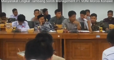 Masyarakat lingkar tambang Konawe Utara (Konut) terus menyoroti Brach Manager PT Virtue Dragon Nikel Indonesia (VDNI) Morosi, Konawe, Sulawesi Tenggara (Suiltra) saat hearing bersama 8 perusahaan di DPRD setempat. Maysrakat ini mempertanyakan pembebasan lahan yang sampai saat ini beberapa masyarakat belum dibayarkan.