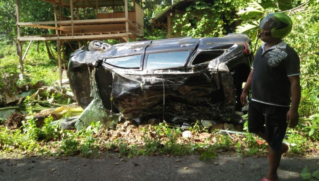 Mobil PLN Lakalantas, Lima Korban Dilarikan ke RSUD