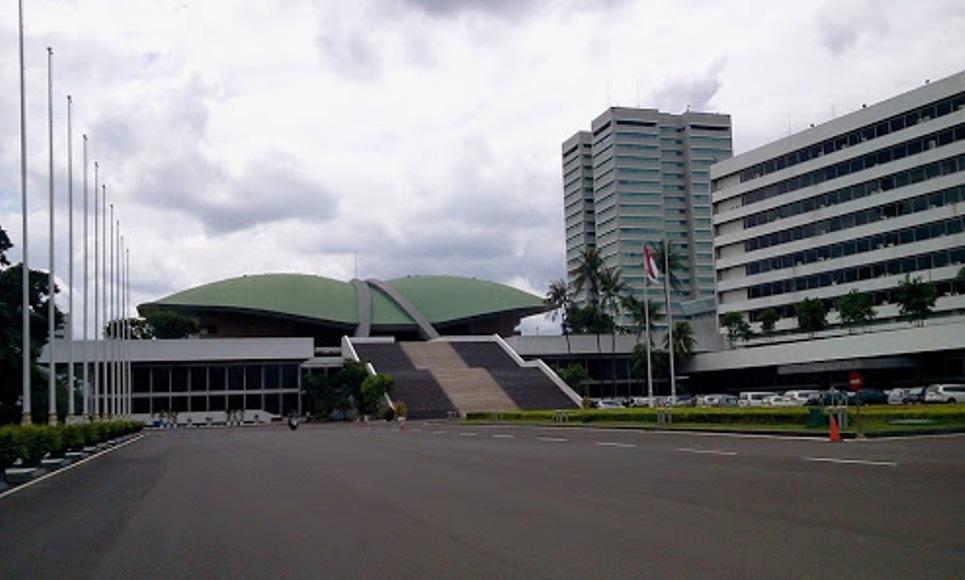 Gedung DPR RI. FOTO : INT