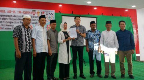 Pererat Silaturahmi PT VDNI Gelar Halal Bihalal Dirangkaian MoU Perbaikan Jalan
