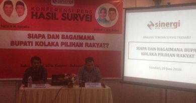 Survei: Ahmad Syafei - Muh Jayadin Unggul di Pilkada Kolaka
