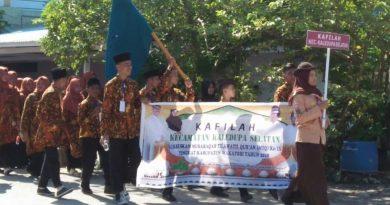 Pawai Ta'aruf Meriahkan Musabaqah Tilawatil Quran Tingkat Kabupaten