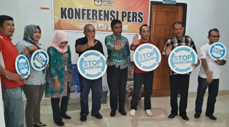 BNNK Tes Urine Penyelenggara Negara, Ketua KPU Muna Kutuk Pejabat Pengguna Narkoba